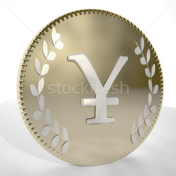 Yen or Yuan Coin Stock photo © Koufax73