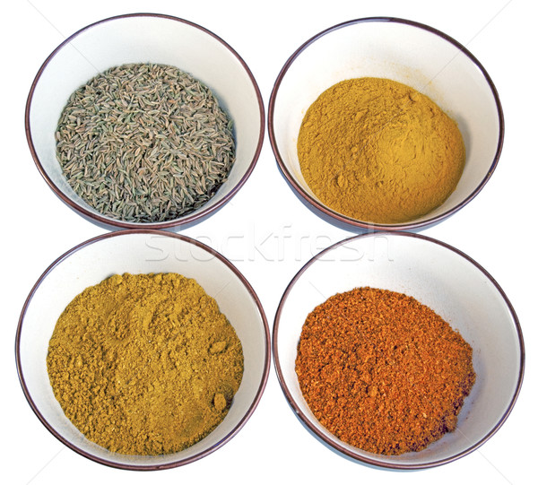 Indian spices Stock photo © Koufax73