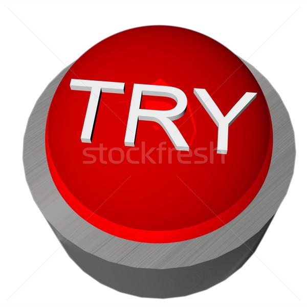 Try button Stock photo © Koufax73