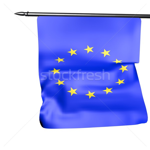 EU Flag Stock photo © Koufax73