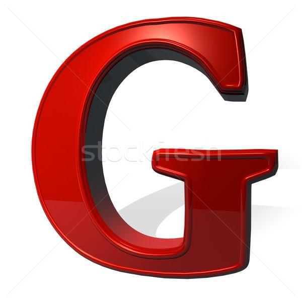 Letter G Stock photo © Koufax73