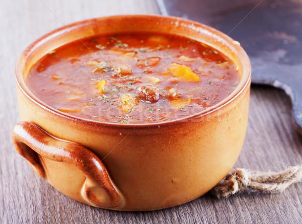 Soup Stock photo © Koufax73