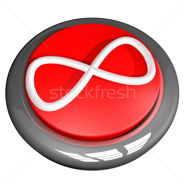 Infinite button Stock photo © Koufax73