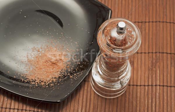 Red salt Stock photo © Koufax73