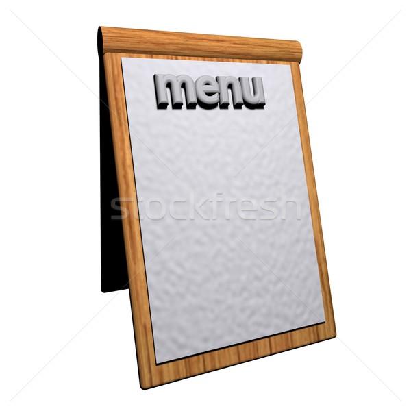 Menu Stock photo © Koufax73