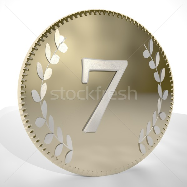 Coin 7 Stock photo © Koufax73