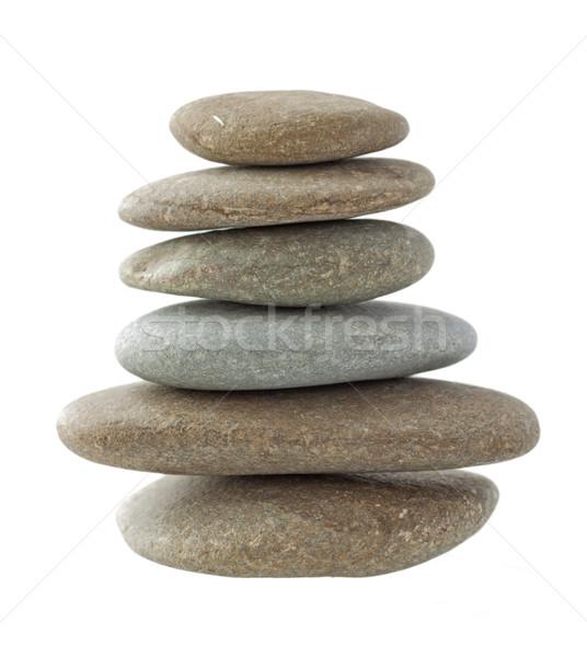 Taşlar altı farklı bahçe güzellik Stok fotoğraf © Koufax73