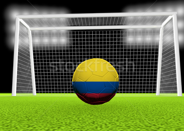 Soccer Colombia Stock photo © Koufax73