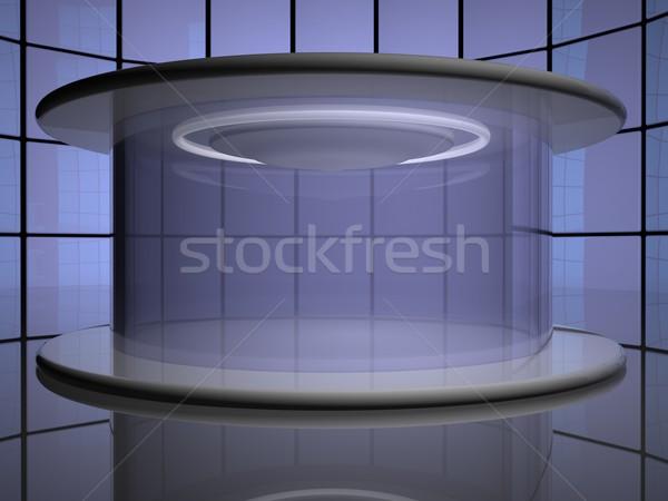Teleportation capsule Stock photo © Koufax73