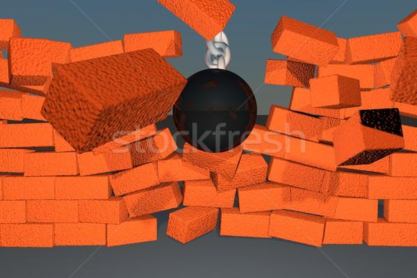Wrecking ball Stock photo © Koufax73