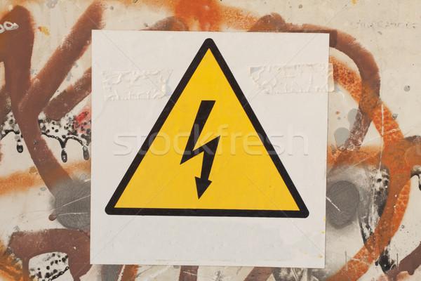 Danger Stock photo © Koufax73