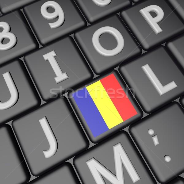 Romania key Stock photo © Koufax73