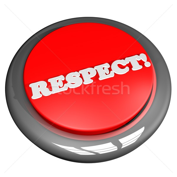Respect button Stock photo © Koufax73
