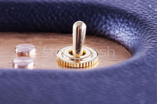 Golden wechseln horizontal Bild zwei Tasten Stock foto © Koufax73