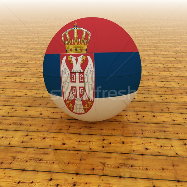 Serbia basketball Stock photo © Koufax73