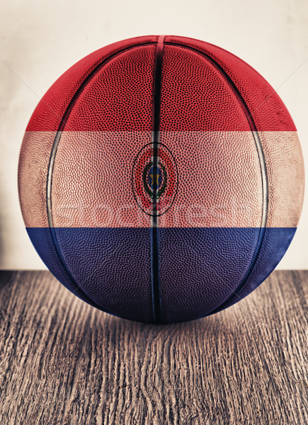 Paraguay basketball Stock photo © Koufax73