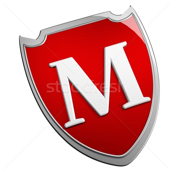 M Shield Stock photo © Koufax73