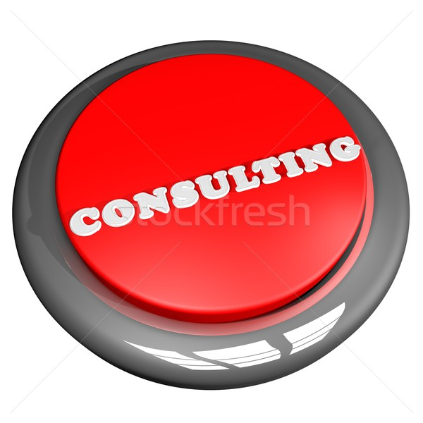 Consulting button Stock photo © Koufax73
