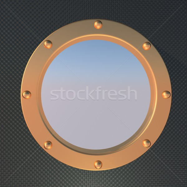 Stock photo: Porthole
