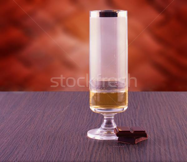 Whisky and chocolate Stock photo © Koufax73