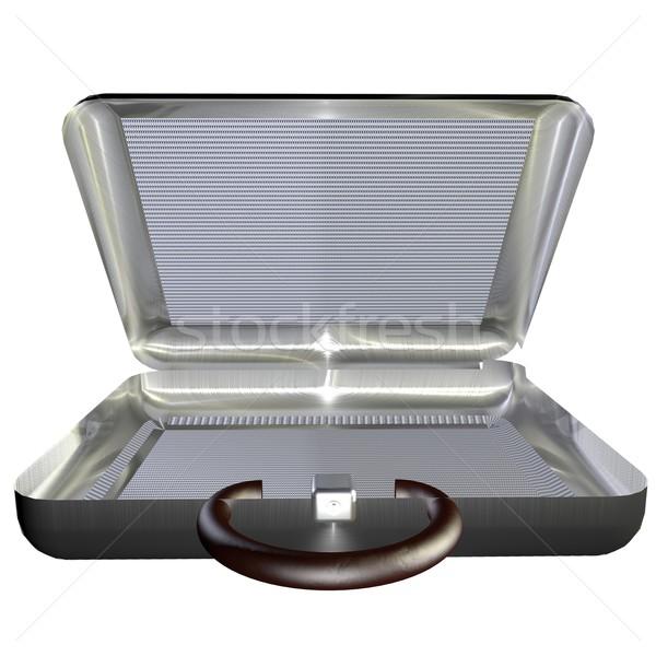 Open suitcase Stock photo © Koufax73