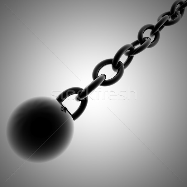 Ball and chain Stock photo © Koufax73