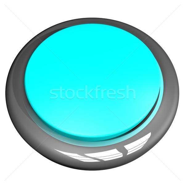 Lite Blue Button Stock photo © Koufax73