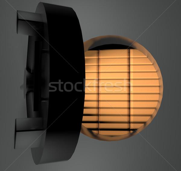 Gold ingots in safe Stock photo © Koufax73