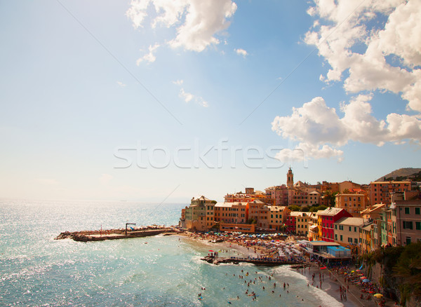 Town over sea Stock photo © Koufax73