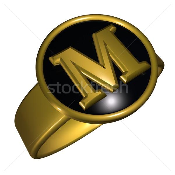 M letter Stock photo © Koufax73