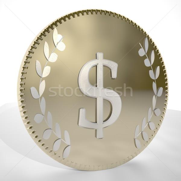 Dollar coin Stock photo © Koufax73