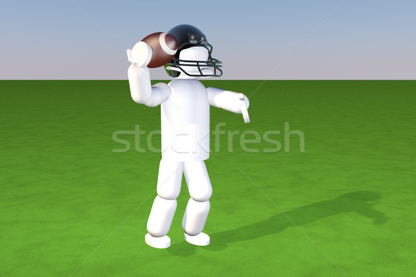 Quarterback Stock photo © Koufax73