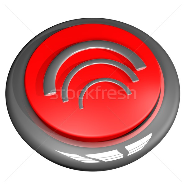 Wi fi button Stock photo © Koufax73