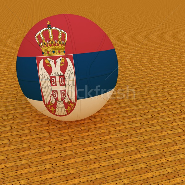Serbian basketball Stock photo © Koufax73