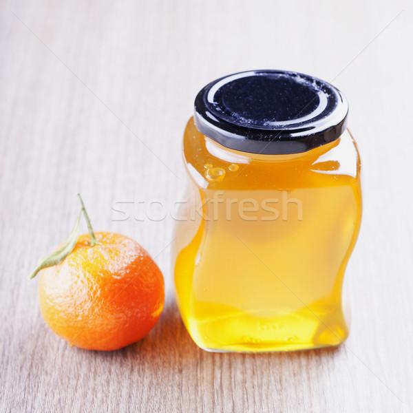Honey and mandarin Stock photo © Koufax73