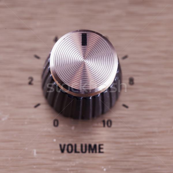 Volume switch, close up Stock photo © Koufax73