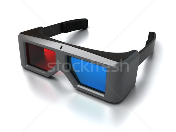 3D glasses Stock photo © koya79