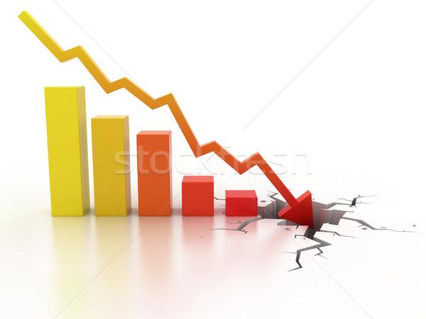 Finansal kriz iş para finanse pazar şirket Stok fotoğraf © koya79