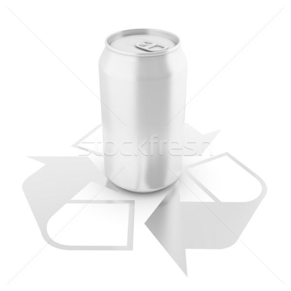 アルミ することができます リサイクル にログイン 孤立した デザイン ストックフォト © koya79