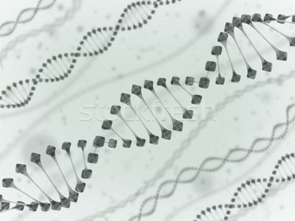 DNA鑑定を 白 技術 薬 科学 化学 ストックフォト © koya79