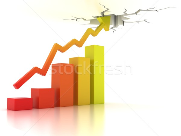 Business financial growth concept Stock photo © koya79