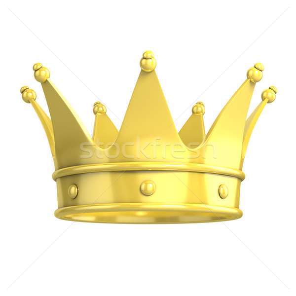 golden crown Stock photo © koya79