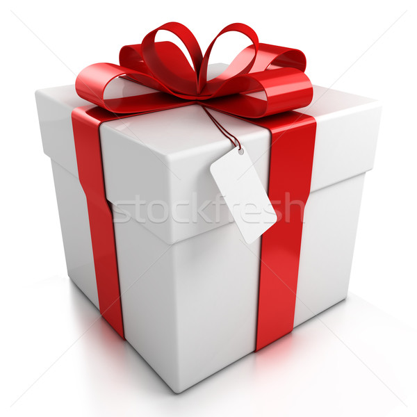 gift box isolated Stock photo © koya79
