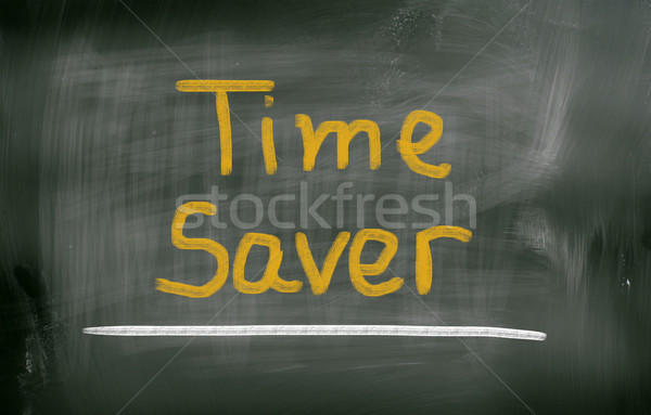 Time Saver Concept Stock photo © KrasimiraNevenova