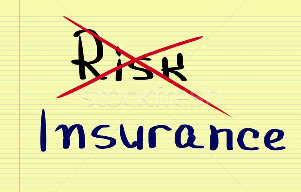 Insurance Concept Stock photo © KrasimiraNevenova