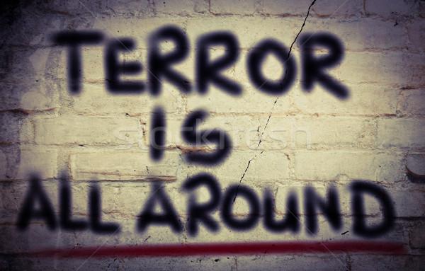 テロ セキュリティ 死 チーム ターゲット ストックフォト © KrasimiraNevenova