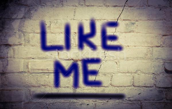 Like Me Concept Stock photo © KrasimiraNevenova