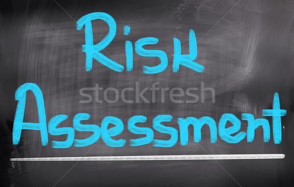 Risk Assessment Concept Stock photo © KrasimiraNevenova