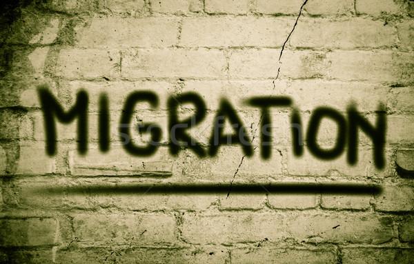 Migration Concept Stock photo © KrasimiraNevenova