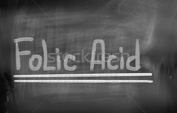 ácido educação assinar medicina tela químico Foto stock © KrasimiraNevenova